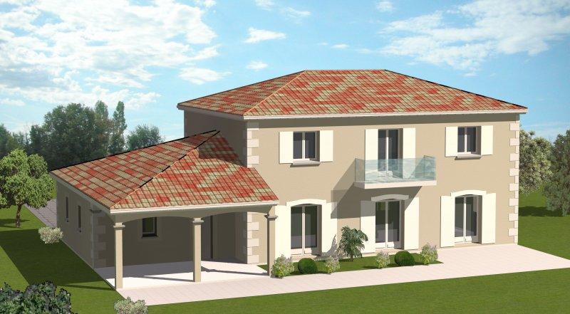 Construction 86 Fr Plan Maison Etage Traditionnel De Type 7