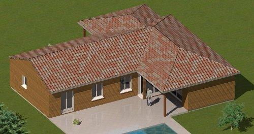 Construction-86.Fr > Plan Maison Ossature Bois Plain Pied De Type 6