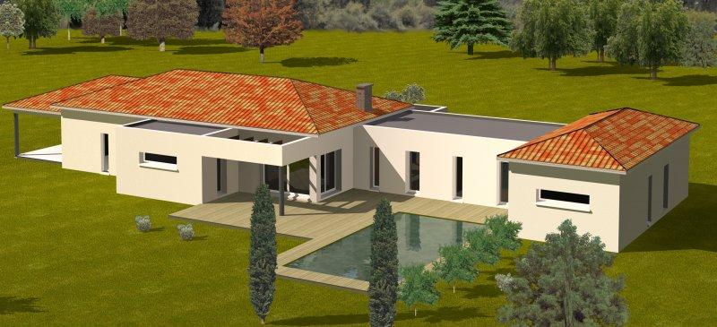 CONSTRUCTION 86 FR plan maison contemporaine plain pied