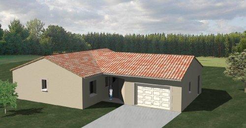 construction 86 fr plan maison traditionnelle plain pied. Black Bedroom Furniture Sets. Home Design Ideas